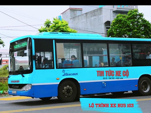 lộ trình Xe bus 103 hà nội