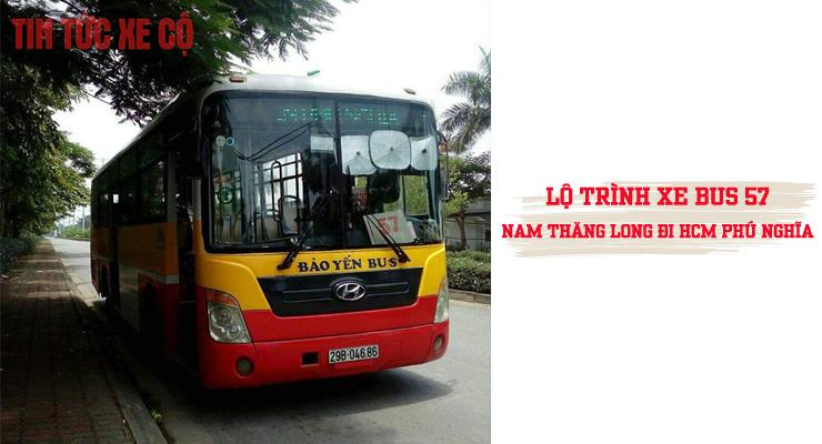 xe buýt 57 hà nội
