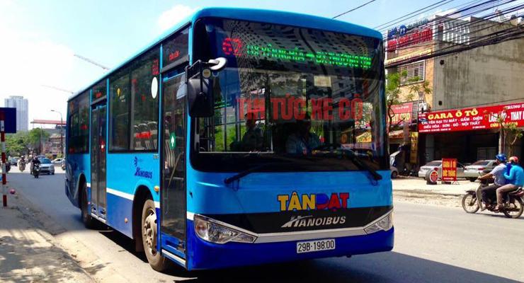 xe buýt 62 hà nội
