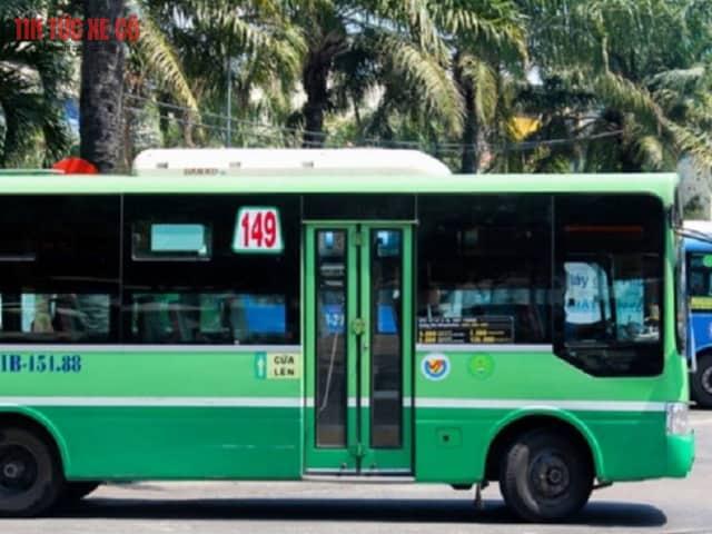 hình ảnh xe bus 149 tphcm