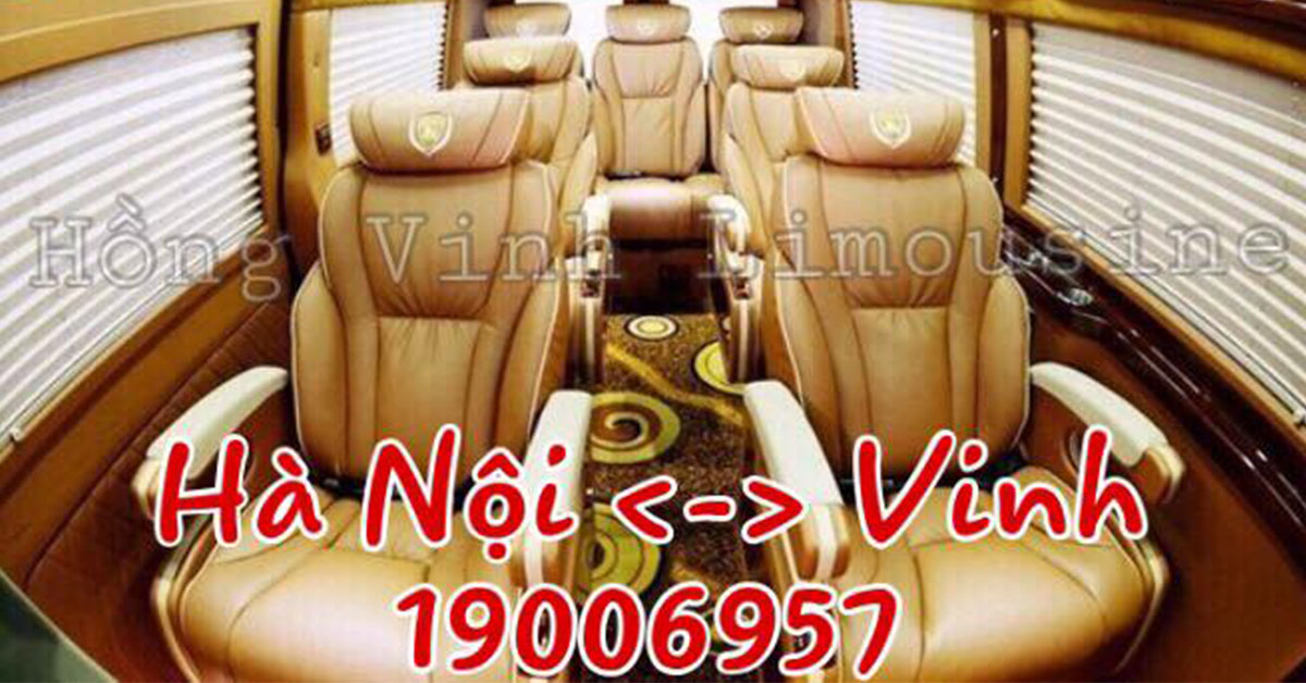 nhà xe hồng vinh limousine