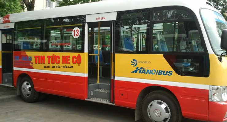 xe bus 13 hà nội