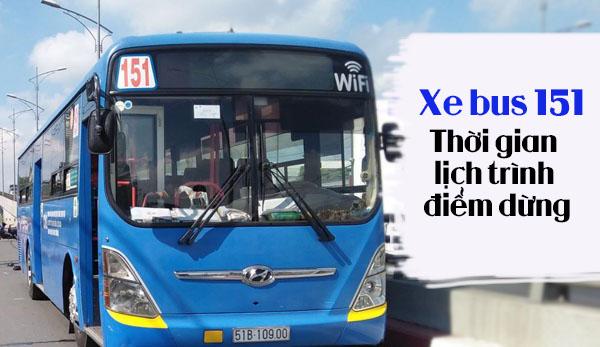 Xe bus 151
