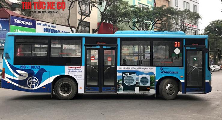 xe buýt 31 hà nội