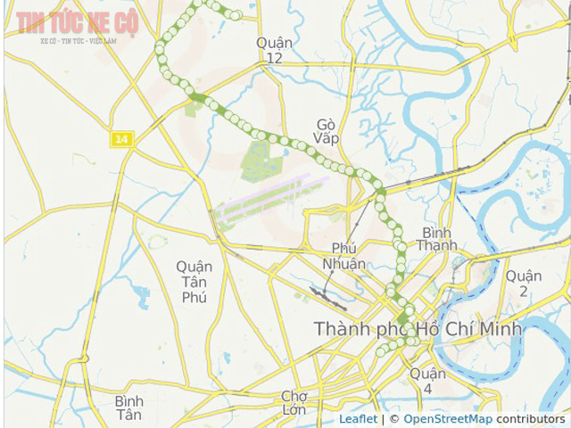 bản đồ xe bus số 18 tphcm