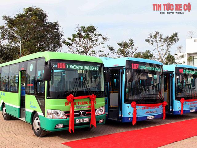 hình ảnh xe bus 106 hà nội