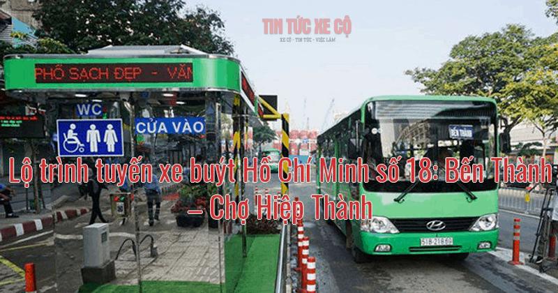 lội trình xe buýt số 18 tphcm