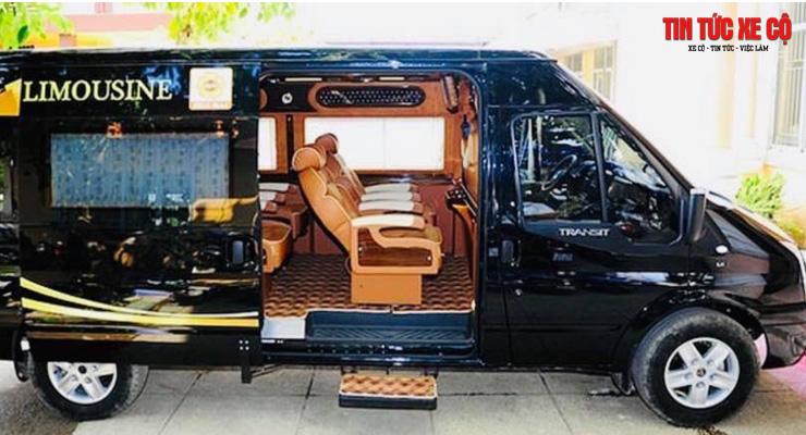 nhà xe limousine hoàng anh