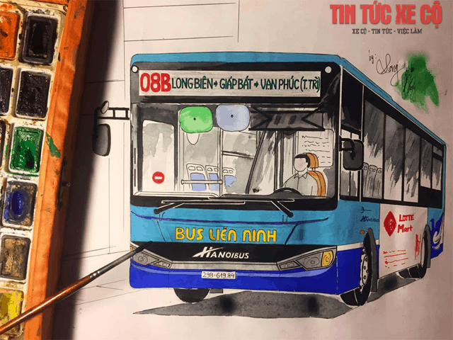 xe bus 08b hà nội