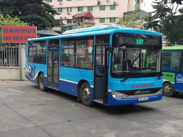 xe bus 107 hà nội