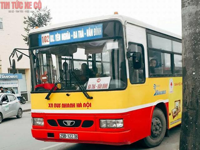 xe buýt 102 hà nội