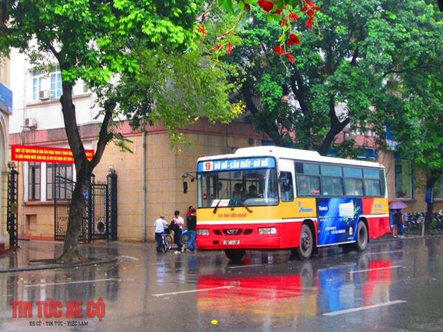 xe buýt 09 hà nội