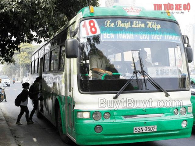 xe buýt số 18 tphcm