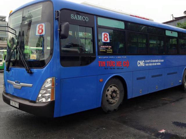 xe buýt số 8 tphcm