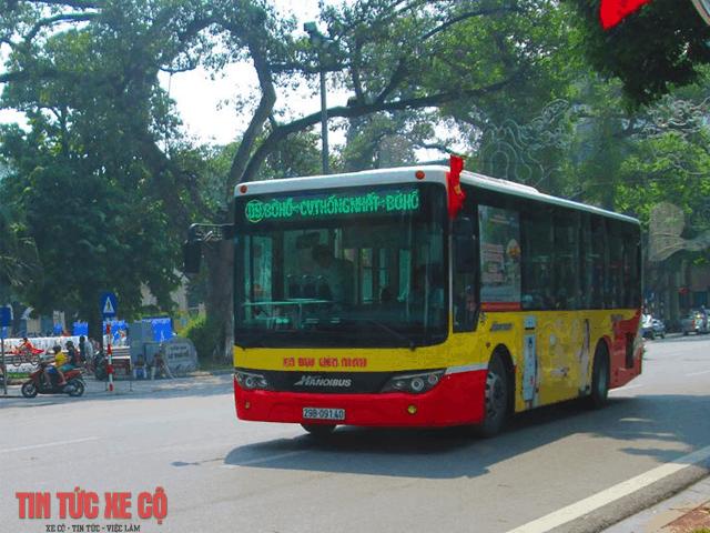xe buýt số 9 hà nội