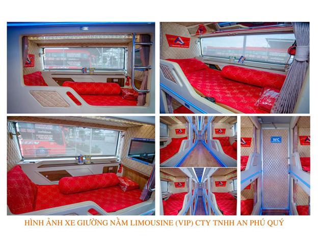hình ảnh nhà xe giường nằm an phú quý