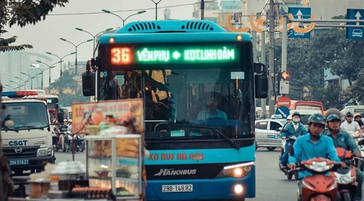 lộ trình xe bus 36 hà nội