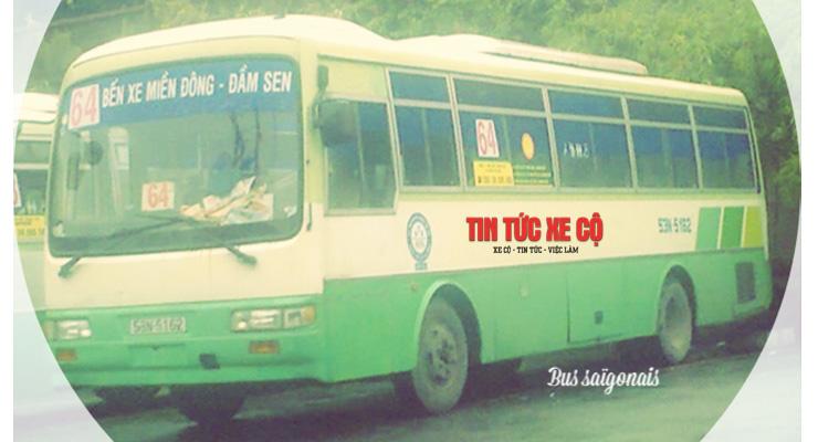 lộ trình xe bus 64 tphcm