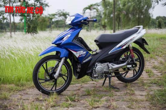 Những ưu điểm nổi trội của xe Suzuki Axelo 125