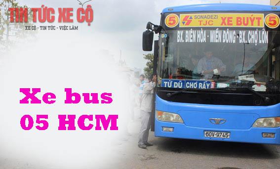 Lộ trình xe buýt 05 HCM