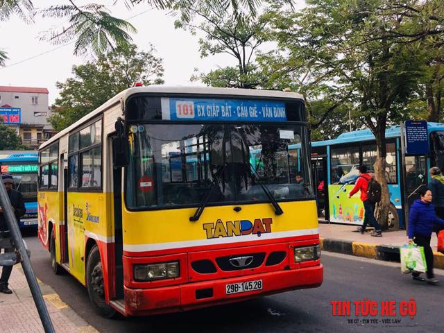 xe bus 101 hà nội