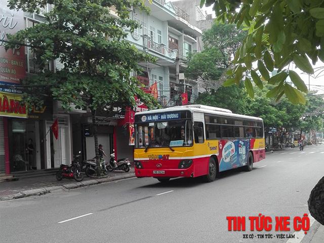 xe bus 202 hà nội hải dương
