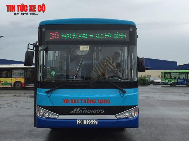 xe bus 30 hà nội