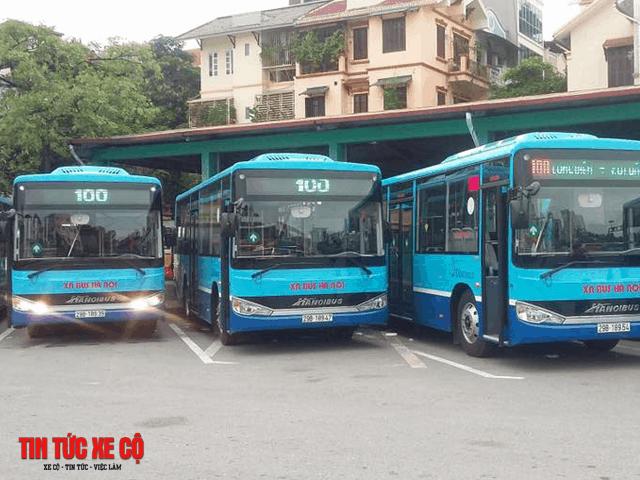 xe buýt 100 hà nội
