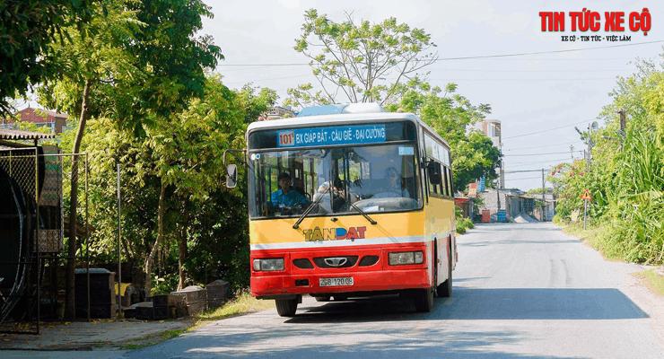 xe buýt 101b hà nội