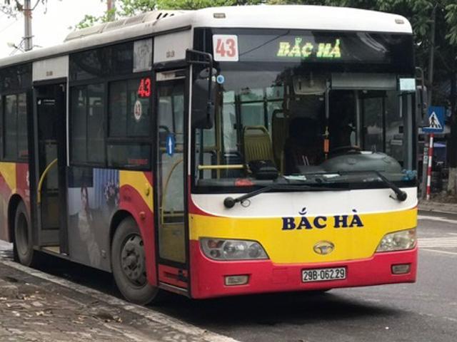 xe buýt 43 hà nội