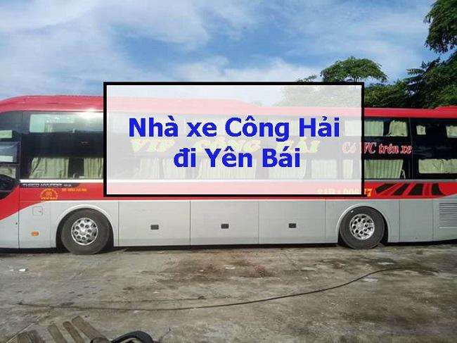 nhà xe Công Hải đi Yên Bái