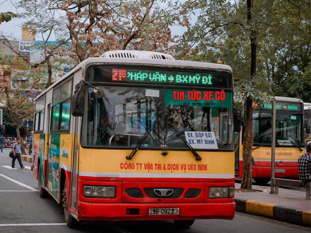 xe bus 21b hà nội