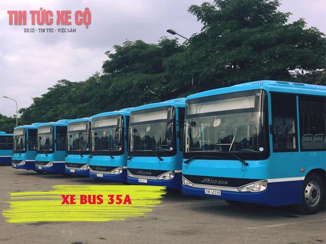 xe bus 35a hà nội