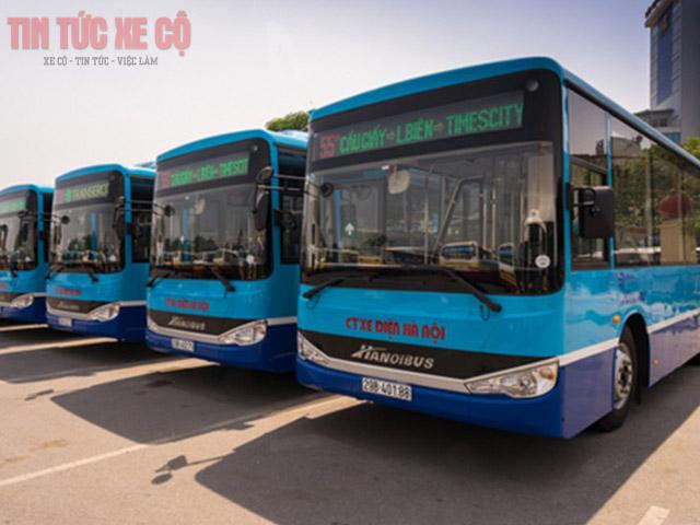 xe bus 55a hà nội