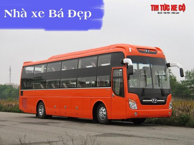Nhà xe Bá Đẹp chạy tuyến Hà Nội - Ninh Bình