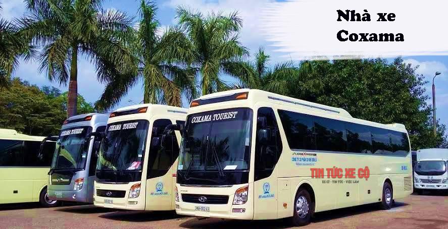 Nhà xe Coxama tuyến Mộc Châu – Hà Nội
