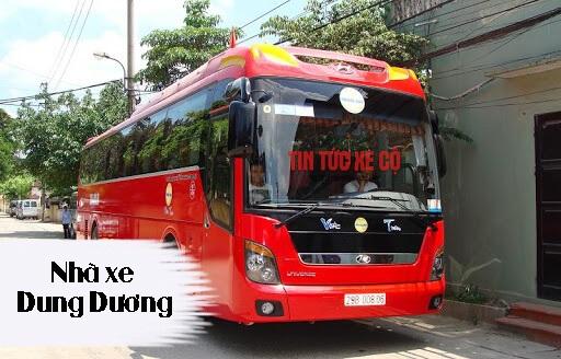 Nhà xe Dung Dương tuyến cố định Nam Định – Hà Nội