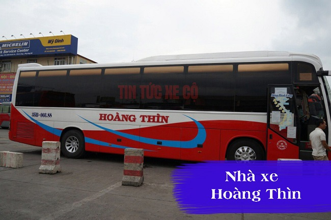 Nhà xe Hoàng Thìn Ninh Bình