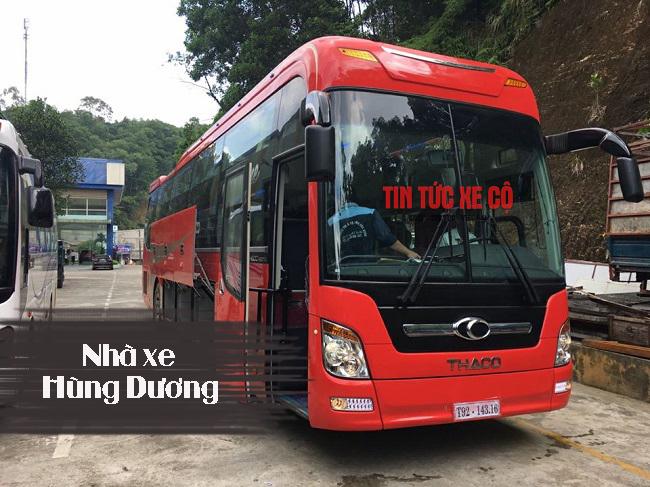 Nhà xe Hùng Dương yên bái