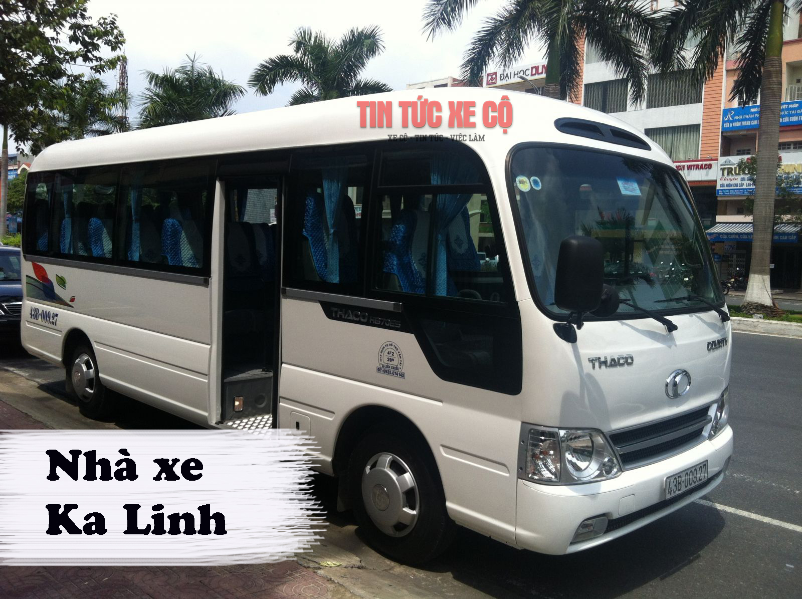 Nhà xe Ka Linh chạy từ Mộc Châu – Hà Nội