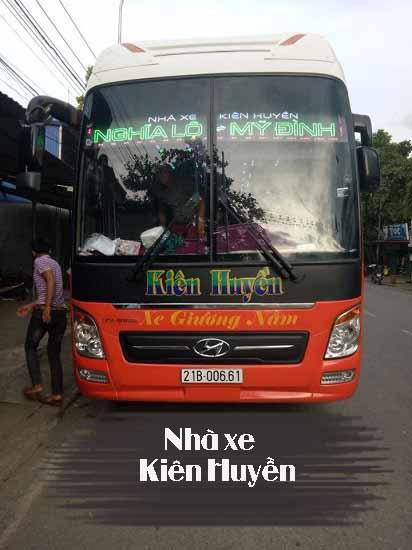 Nhà xe Kiên Huyền Yên Bái