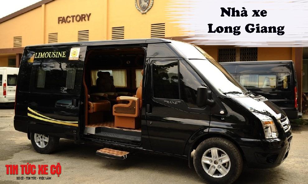 Nhà xe Long Giang chuyến Nam Định đi Hà Nội