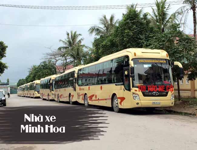 Nhà xe Minh Hoa Yên Bái