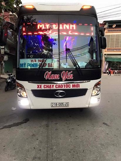 Nhà xe Phong Thắm Yên Bái