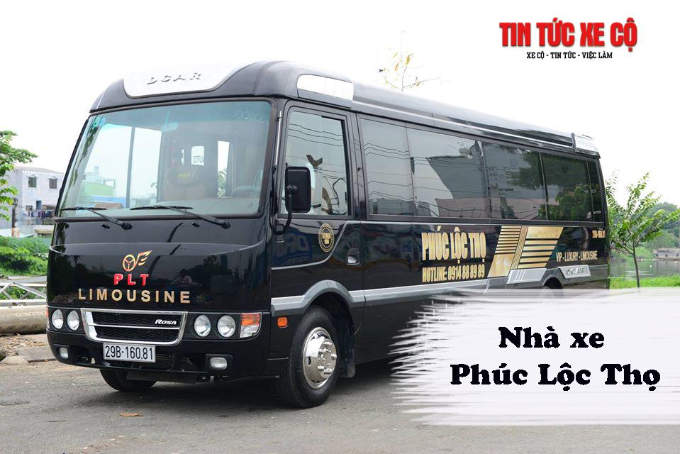Nhà xe Phúc Lộc Thọ Limousine tuyến Nam Định – Hà Nội