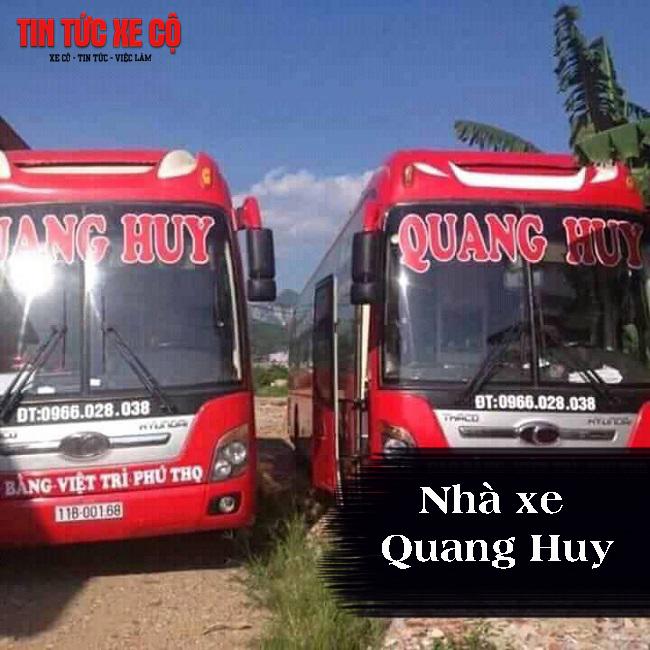 Nhà xe Quang Huy tuyến Giao Thủy – Hà Nội