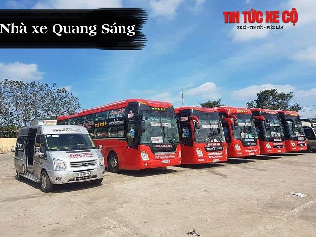 nhà xe Quang Sáng