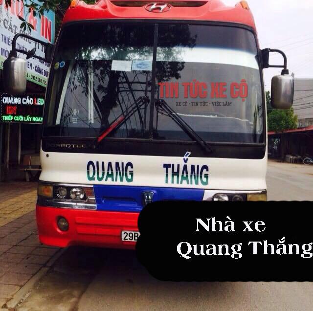 Nhà xe Quang Thắng tuyến Ninh Bình đi Hà Nội