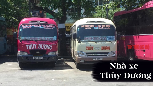 nhà xe Thùy Dương