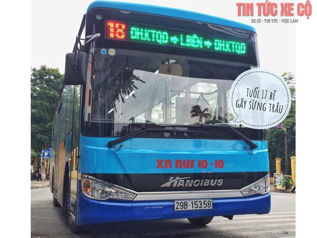 xe bus 18 hà nội
